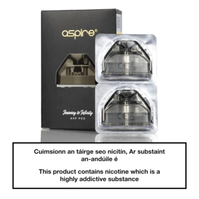 Aspire AVP AIO Replacement Pods (2 Pack)