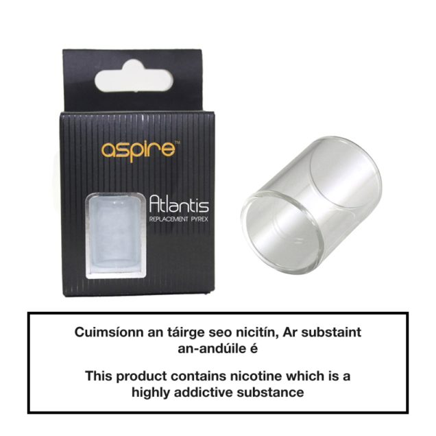 Aspire Atlantis Replacement Tube Pyrex Glass