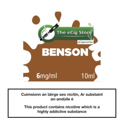 eCig Store Benson 10ml