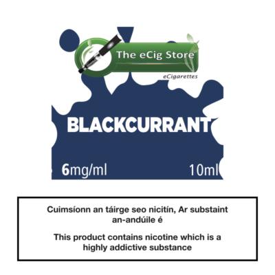 eCig Store Blackcurrant 10ml