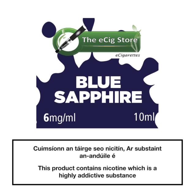 eCig Store Blue Sapphire 10ml