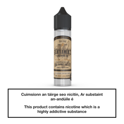 DRS Gentlemen's Custard Tea Infused 50ml
