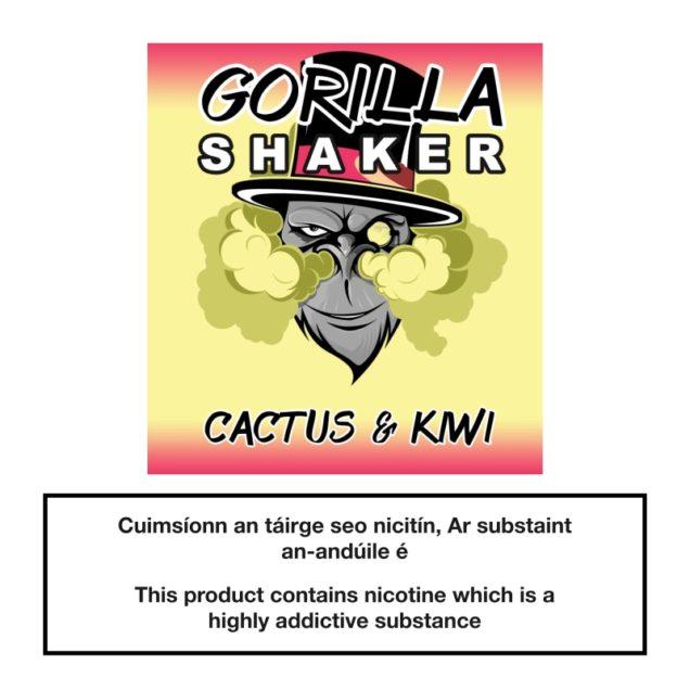Gorilla Shaker Cactus & Kiwi 25ml 0mg