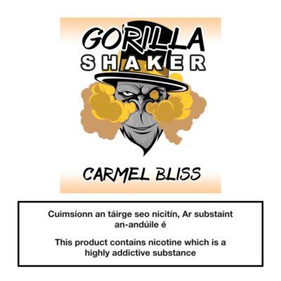 Gorilla Shaker Carmel Bliss 25ml 0mg