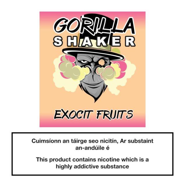 Gorilla Shaker Exocit Fruits 25ml 0mg