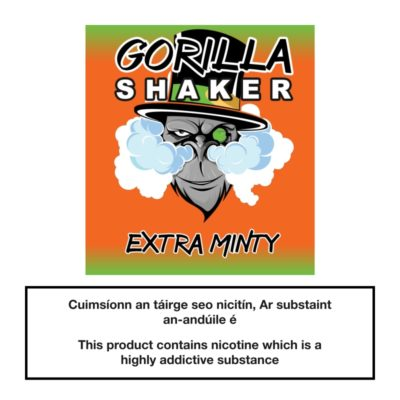 Gorilla Shaker Extra Minty 25ml 0mg