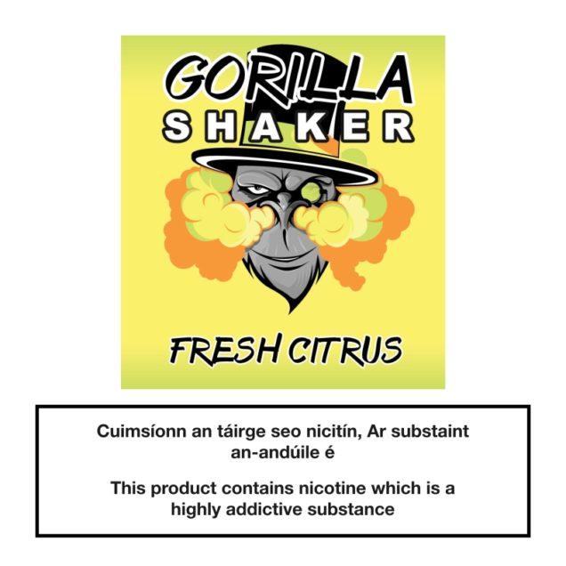 Gorilla Shaker Fresh Citrus 25ml 0mg