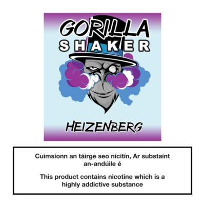 Gorilla Shaker Heizenberg 25ml 0mg