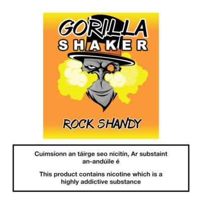 Gorilla Shaker Rock Shandy 25ml 0mg