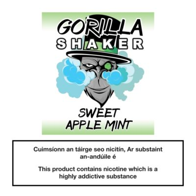 Gorilla Shaker Sweet Apple Mint 25ml 0mg