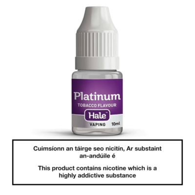 Hale Platinum E-Liquid 10ml
