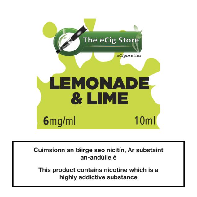 eCig Store Lemonade & Lime 10ml