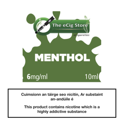 eCig Store Menthol 10ml
