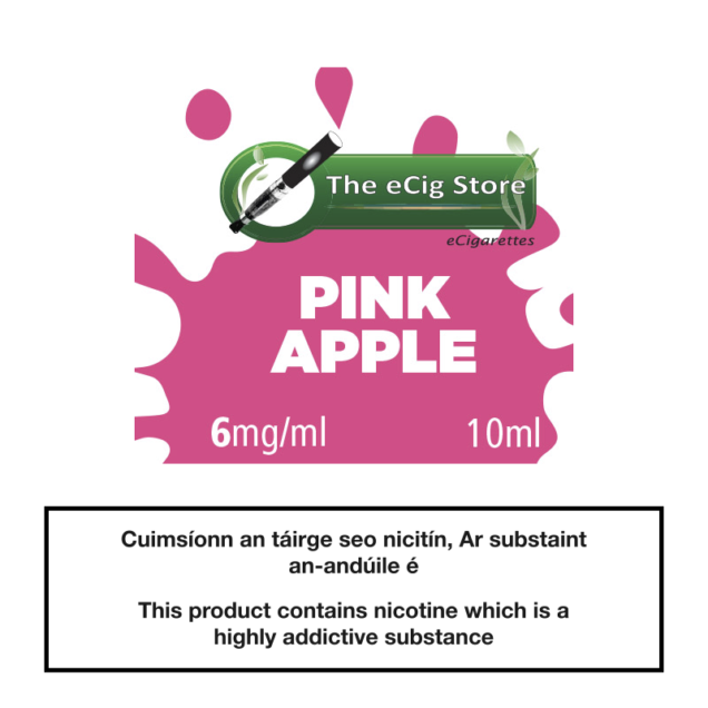 eCig Store Pink Apple 10ml
