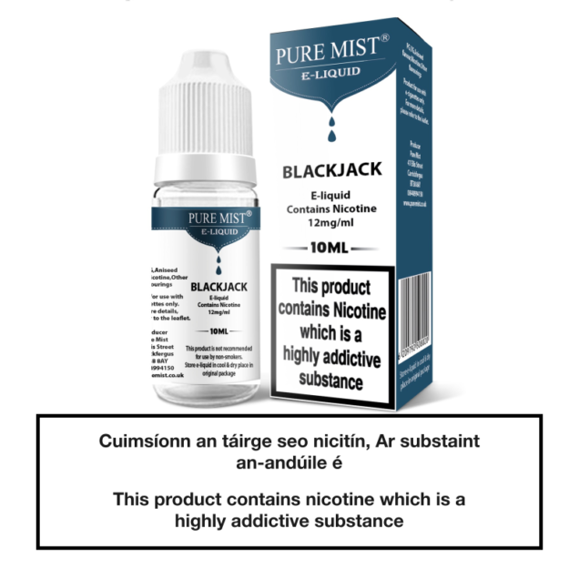 Pure Mist Blackjack 10ml