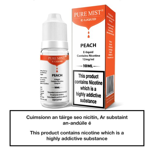 Pure Mist Peach 10ml