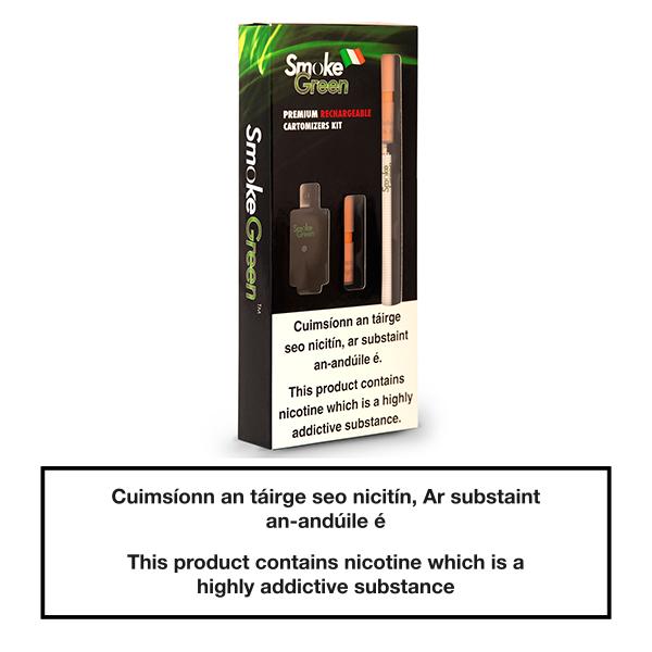 Smoke Green Rechargeable Cartridge Kit