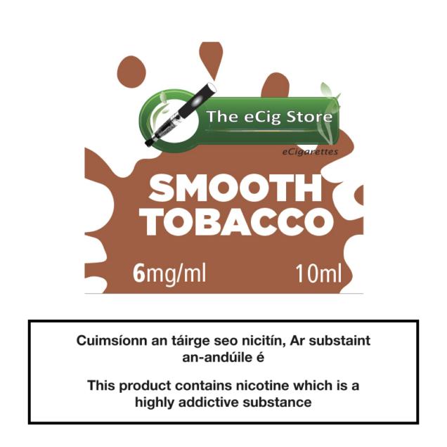 eCig Store Smooth Tobacco 10ml