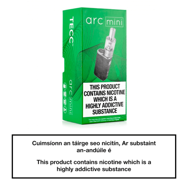 TECC arc Mini 20W E-cig Kit - Package View
