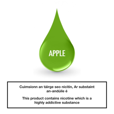 Smoke Green eLiquid Apple 10ml