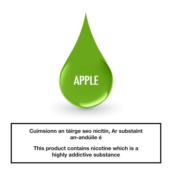 Smoke Green eLiquid Apple 10ml