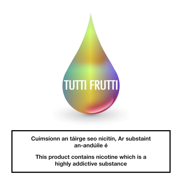 Smoke Green eLiquid Tutti Frutti 10ml
