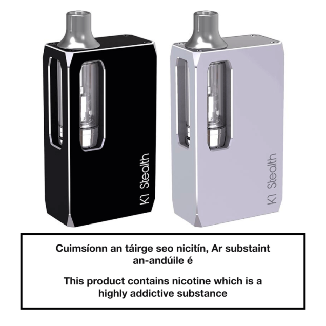 Aspire K1 Stealth Kit - Other Side