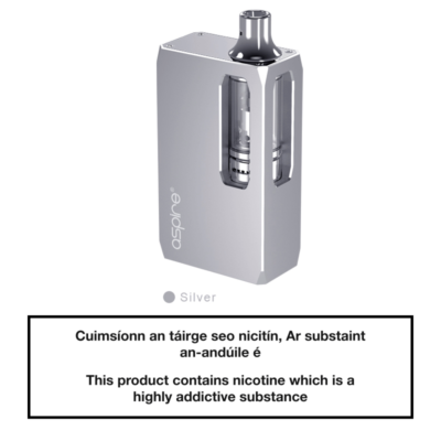 Aspire K1 Stealth Kit - Silver