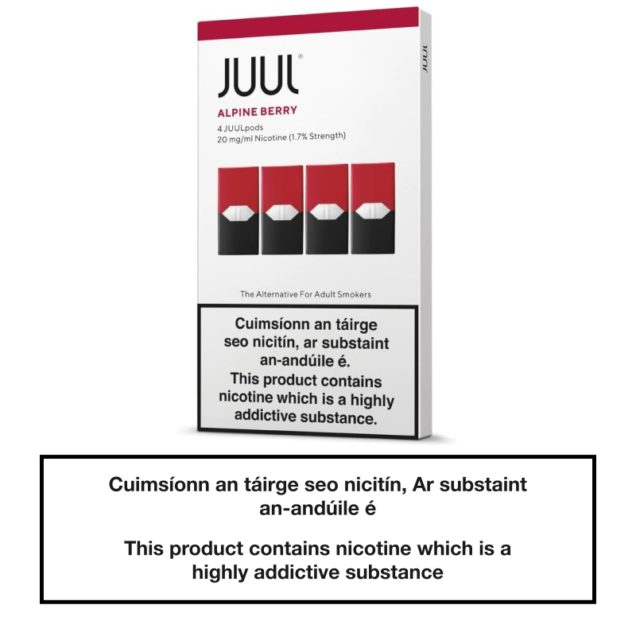 JUUL Pods Alpine Berry 20mg