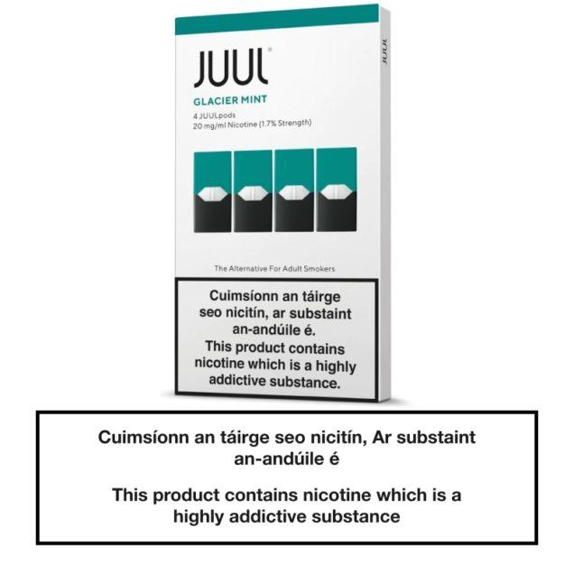 JUUL Pods Glacier Mint 20mg