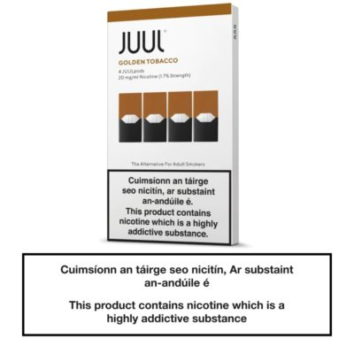 JUUL Pods Golden Tobacco 20mg