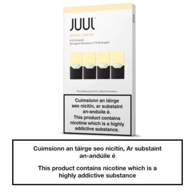 JUUL Pods Royal Creme 20mg