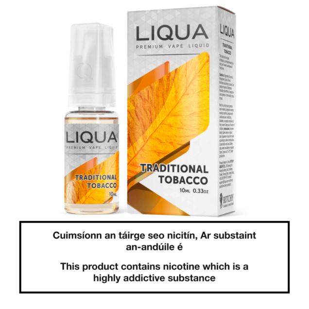 Liqua Elements Traditional Tobacco 10ml