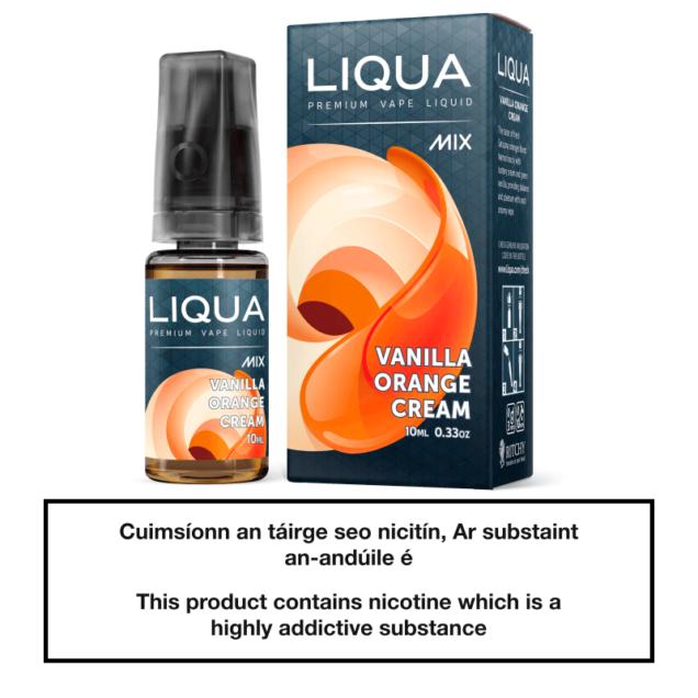 Liqua Mix Vanilla Orange Cream 10ml