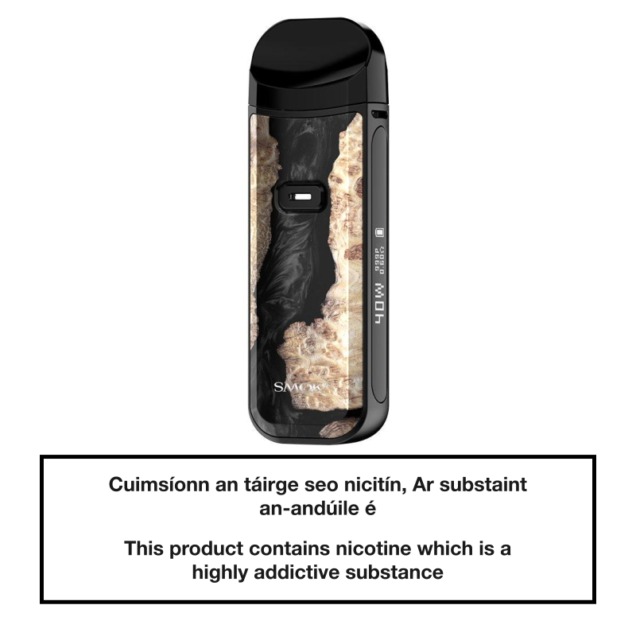 SMOK NORD 2 Pod System - Black Stabilized Wood