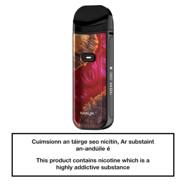 SMOK NORD 2 Pod System - Red Stabilized Wood