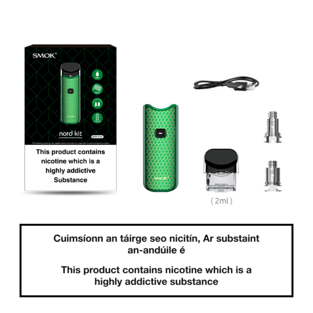 Smok Nord Pod System Contents