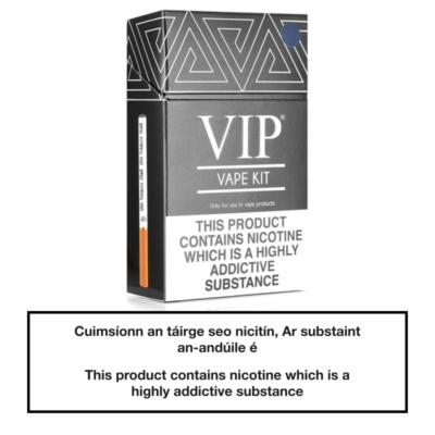 VIP E Cigarette Starter Kit SILVER
