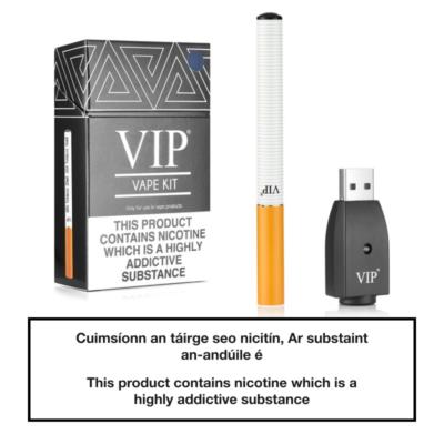 VIP E Cigarette Starter Kit SILVER - Contents