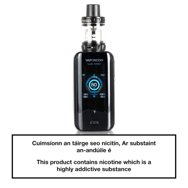 Vaporesso Luxe Nano Kit Black