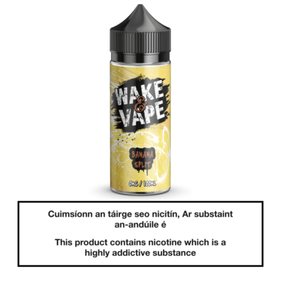 Wake & Vape Banana Split 100ml
