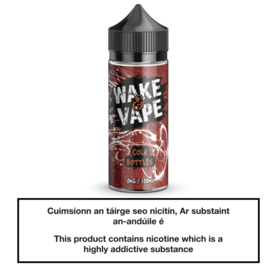 Wake & Vape Cola Bottles 100ml