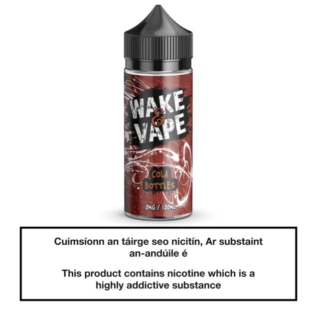 Wake & Vape Cola Bottles 100ml