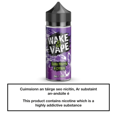 Wake & Vape Dark Fruits & Citrus