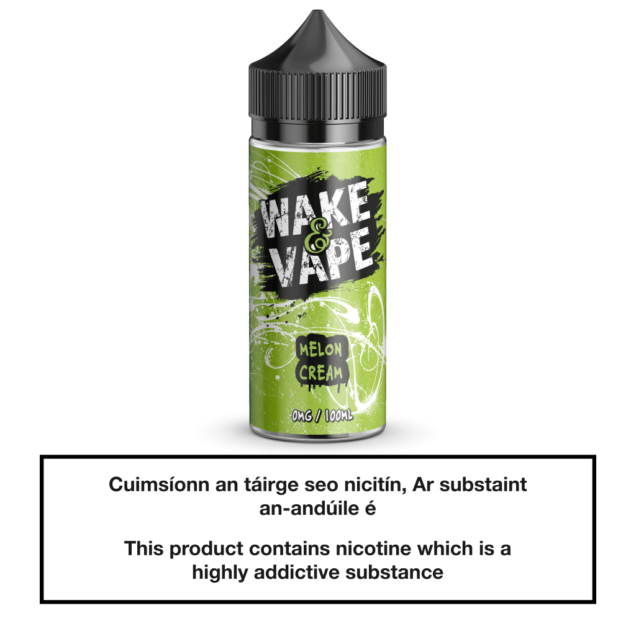 Wake & Vape Melon Cream 100ml