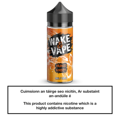 Wake & Vape Orange Sorbet 100ml