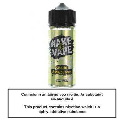 Wake & Vape Sicilian Lemonade Lolly 100ml