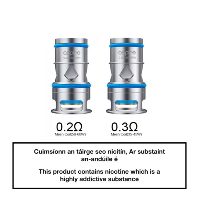Aspire Odan Tank Replacement Coils