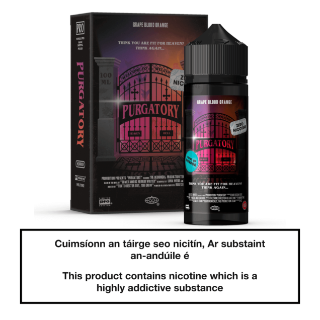 Prohibition Vapes Purgatory 100ml