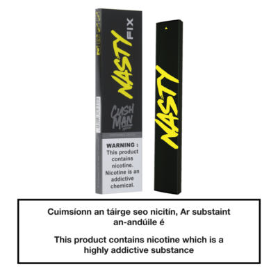 20mg Nasty Fix Disposable Pod Device - Cushman Mango